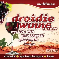 Drożdże winiarskie - Sherry